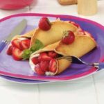 Berry Cream Pancakes