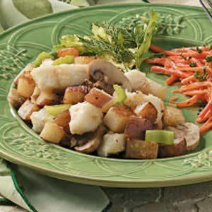 Potato Fish Skillet
