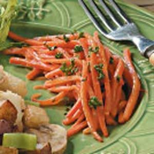 Honey Mustard Carrots