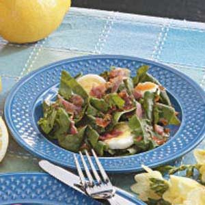 Tangy Spinach Salad Supreme