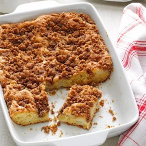 Apple Pear Coffee Cake
