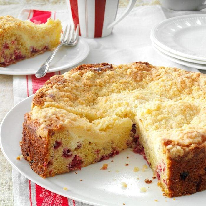 Creamy Cranberry Coffee Cake
