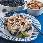Blueberry Almond Coffee Cake