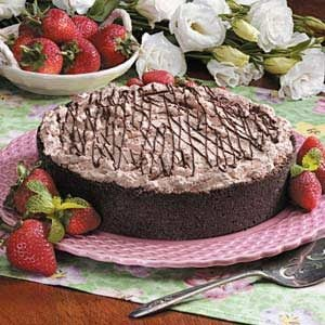 Strawberry Chocolate Torte