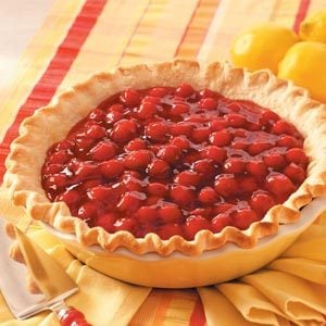 Cherry-Lemon Icebox Pie