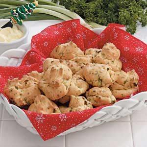 Baked Herb Puffs