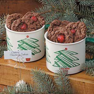 Cherry Chocolate Cookies