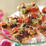 Candied Cherry Nut Bars
