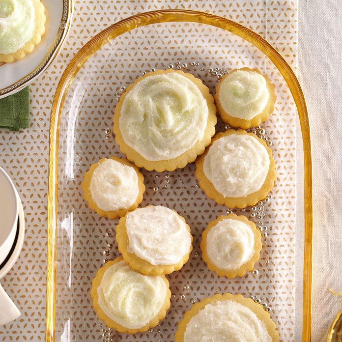 Inspired by: Frosted Sugar Butter Cookies
