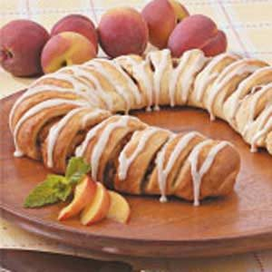 Peach Coffee Cake