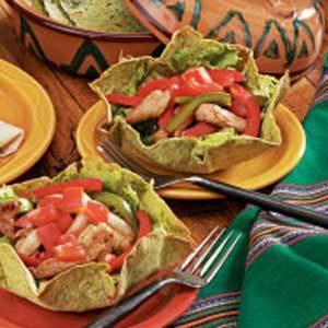 Fajita Tortilla Bowls