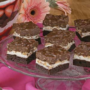 Brownie Mallow Bars