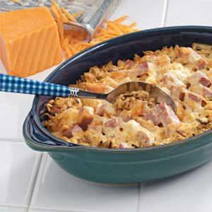 Ham Chicken Casserole