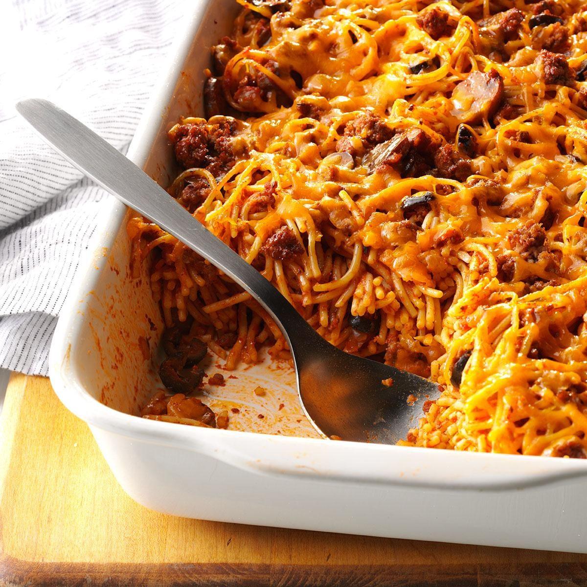 Southwestern Spaghetti Casserole