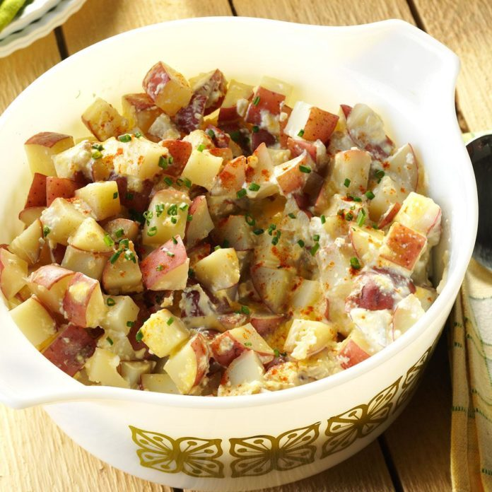 Day 29: Slow-Cooker Red Potatoes