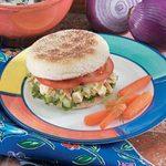 Toasted Almond Chicken Salad Sandwiches