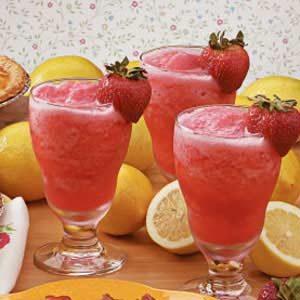Strawberry Lemonade Slush