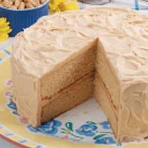 Peanut Butter Layer Cake