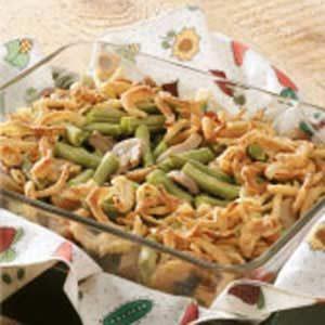 Mini Green Bean Casserole