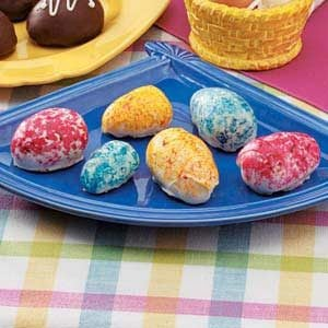 White Chocolate Easter Eggs