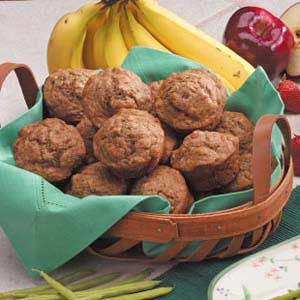 Honey Banana Muffins