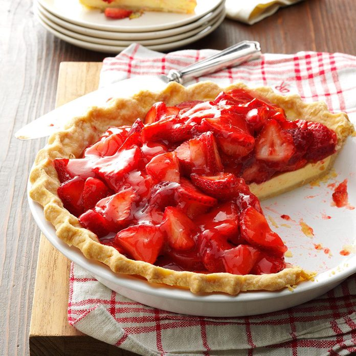 Inspired by: Strawberry 'N Cream Cheese Pie