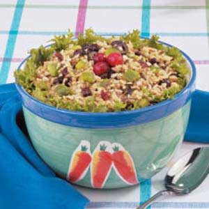 Wild Rice Barley Salad