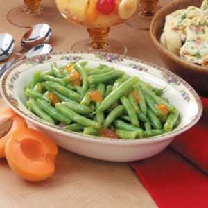 Apricot-Glazed Green Beans