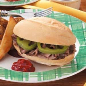 Moist Italian Beef Sandwiches