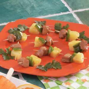 Mini Chicken Kabobs