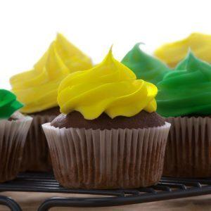 "DC Cupcakes Chocolate & Buttercream ""Puppy Bowl"" Cupcakes"