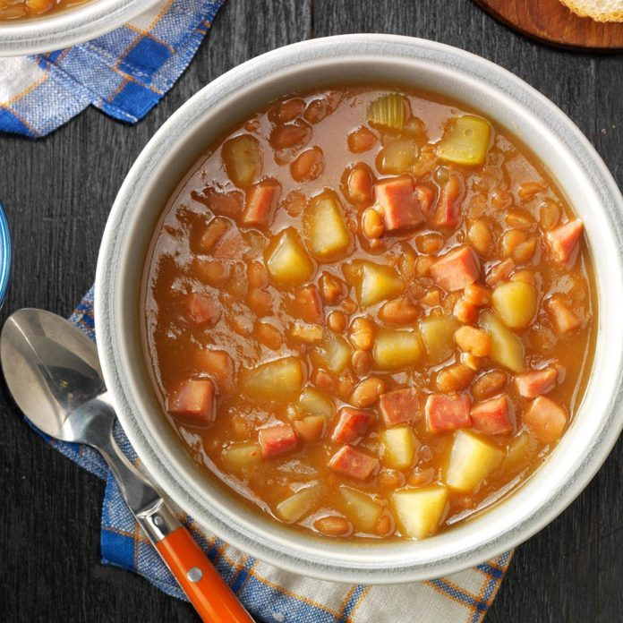 Day 8: Ham and Bean Stew