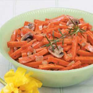 Carrot Mushroom Medley