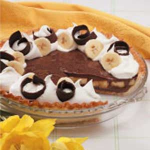Chocolaty Banana Cream Pie