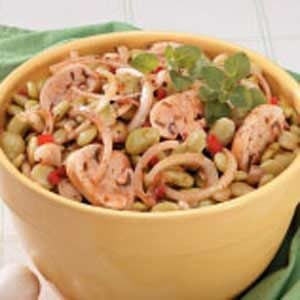 Marinated Lima Bean Salad