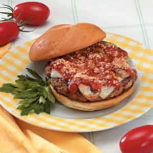 Homemade Italian Beef Patties