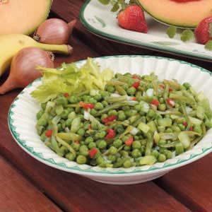 Green Bean 'N' Pea Salad