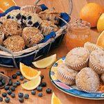 Citrus Pecan Muffins