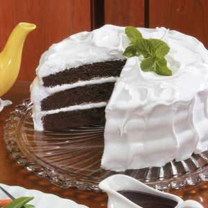 Mahogany Devil's Food Cake