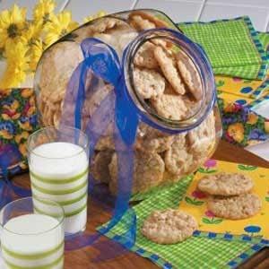 Makeover Crispy Oat Cookies