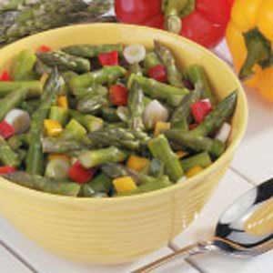 Asparagus Pepper Salad