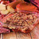 Apple Cranberry Crumble