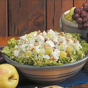 Fruited Tarragon Turkey Salad