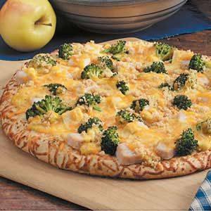 Turkey Divan Pizza