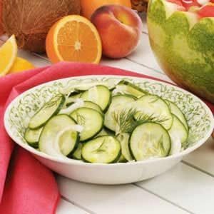 Cucumber Fennel Salad