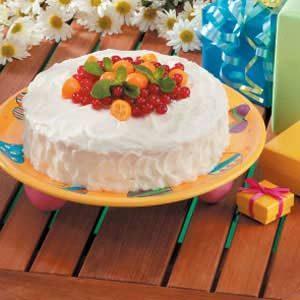 Makeover White Layer Cake