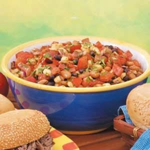 Chili-Cumin Bean Salad