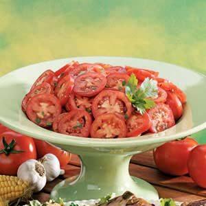 Marinated Plum Tomatoes
