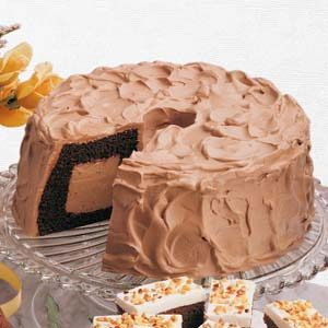Chocolate Lover's Chiffon Cake