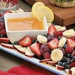 Citrusy Fruit Dip